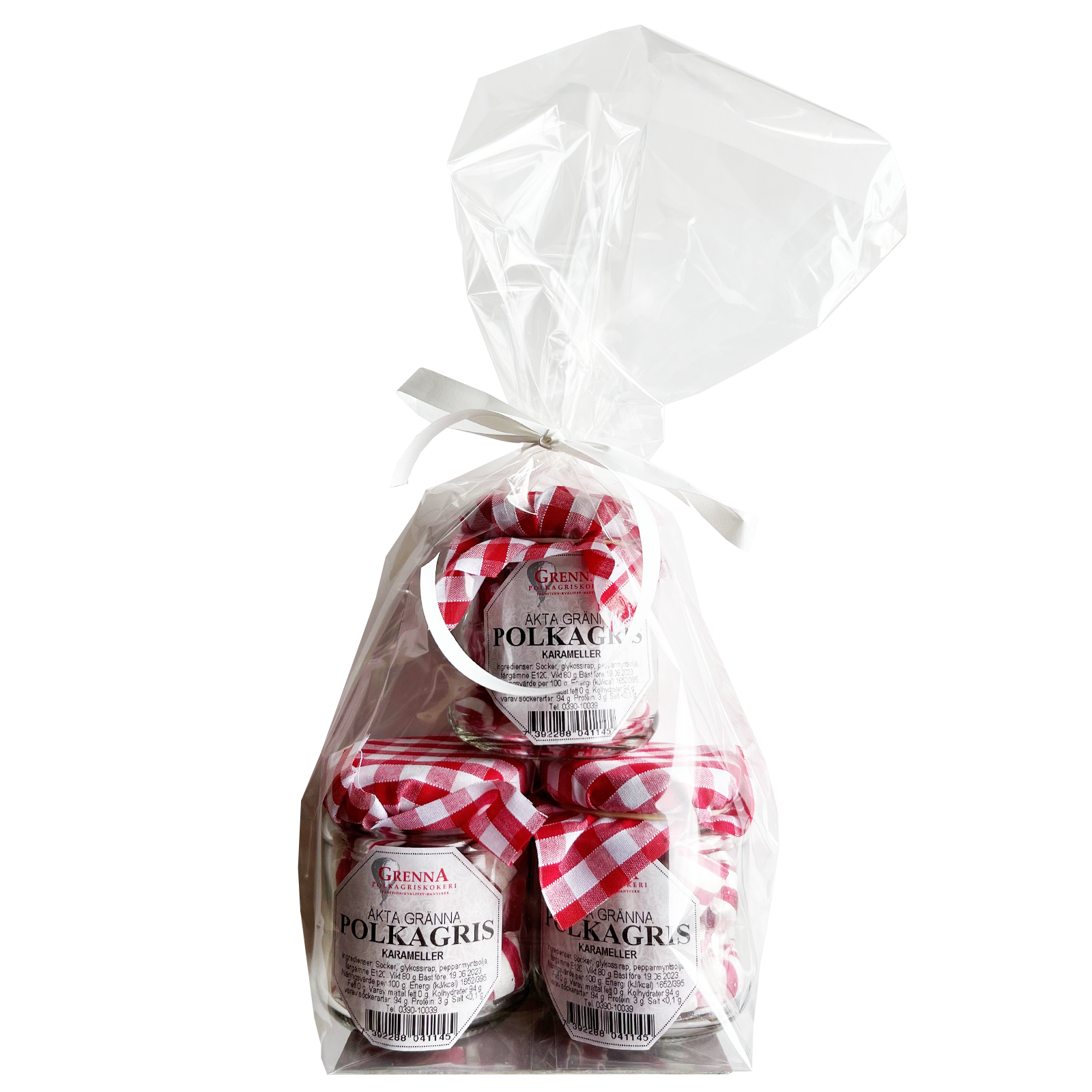 Gift bag Peppermint sweets
