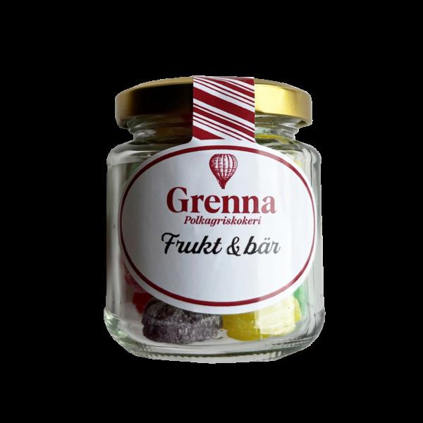 Miniburk med frukt- & bärblandning