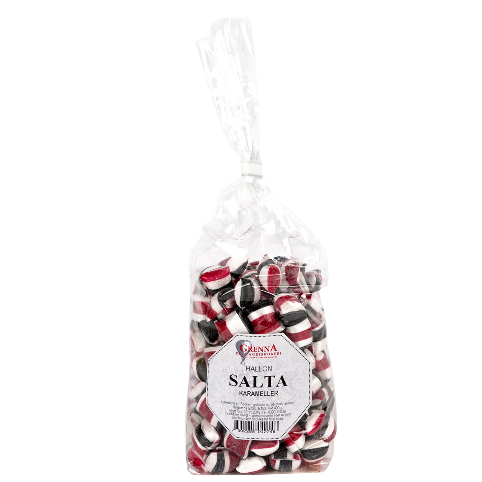 Raspberry Liquorice sweets Large